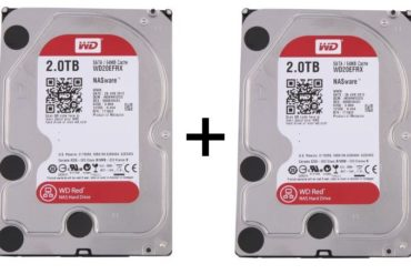 2 WD Red 2To 370x247 - Bons Plans : Disque dur, NAS et SSD