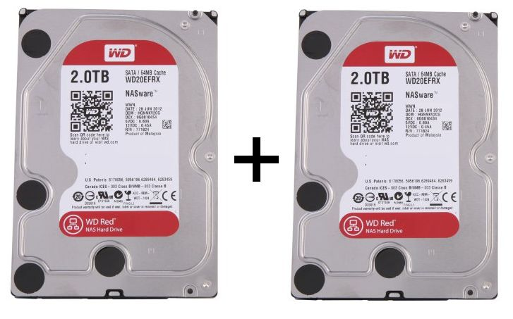 2 WD Red 2To - Bons Plans : Disque dur, NAS et SSD