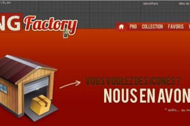 PNG Factory 370x247 - 5 sites d'icônes gratuites