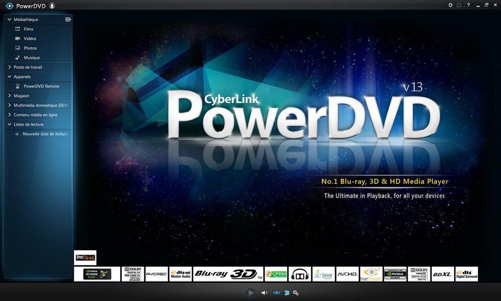 PowerDVD 13 - PowerDVD 13 est disponible...