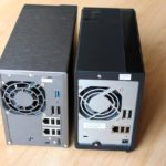 asustor et qnap arriere 150x150 - Test NAS Asustor AS-602T, la surprise...