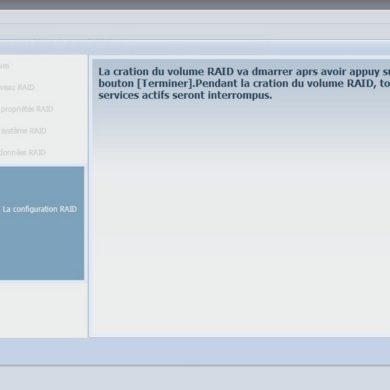 traduction dommage 390x390 - Test NAS - Thecus N5550, la nouvelle référence ?