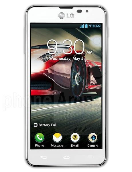LG Optimus F5 - LG et sa gamme 4G