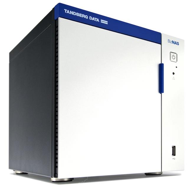 Tandberg Data BizNAS D400 - Tandberg Data lance sa gamme de NAS