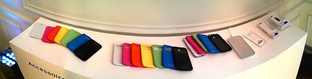 accesoires Galaxy S4 - Prise en main du Samsung Galaxy S4