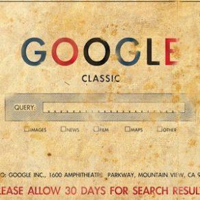 google classic enveloppe 293x293 - SEO - Optimisation d'un site