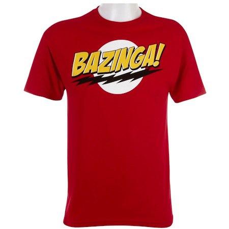 bazinga - 13 cadeaux pour les Geeks et Geekettes