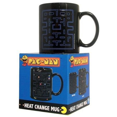 mug pacman - 13 cadeaux pour les Geeks et Geekettes