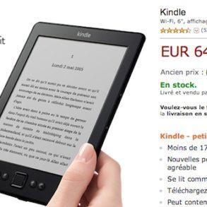 Liseuse Kindle 64 euros 293x293 - Promo Kindle pour la fête des Pères