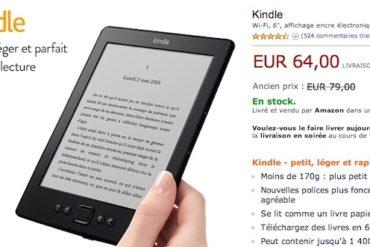 Liseuse Kindle 64 euros 370x247 - Promo Kindle pour la fête des Pères