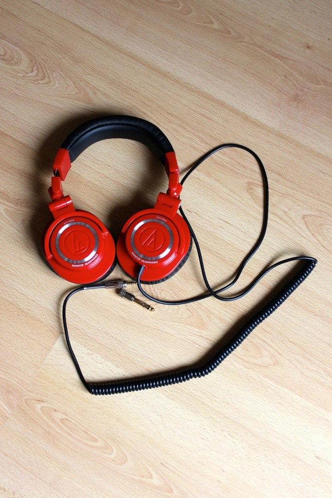 audio technica ATH M50RD - Test Audio Technica ATH-M50RD