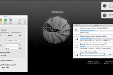 keka OSX Mac 370x247 - Keka, la compression facile sous OS X