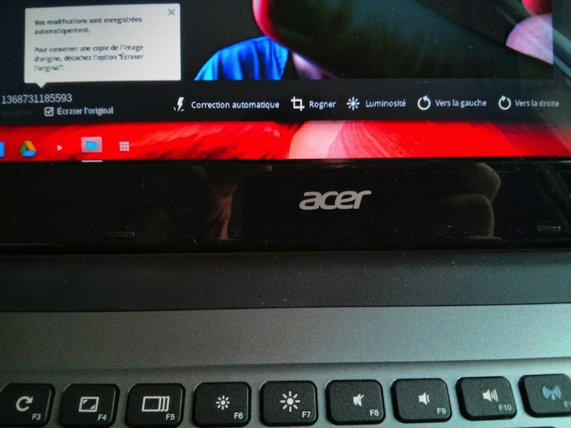 retouche photo chromebook - Test du Chromebook Acer C7