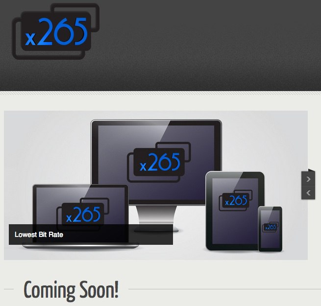 x265 site - MKV 4K grâce au x265