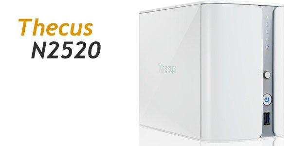 Thecus N2520 - Prise en main du NAS Thecus N2520
