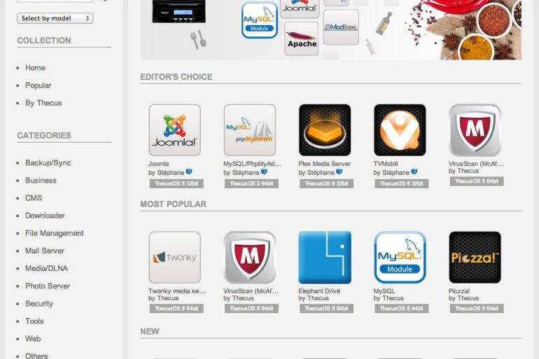 app center nas thecus 770x513 - Thecus lance son Centre des applications NAS