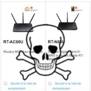 asus routeur faille 293x293 - Routeur ASUS, une faille critique découverte