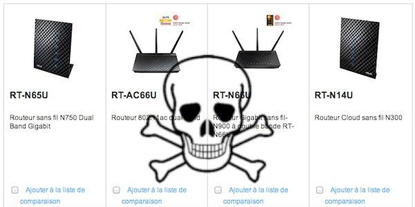 asus routeur faille - Routeur ASUS, une faille critique découverte