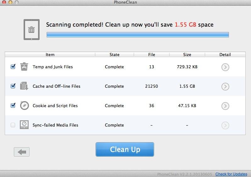 bilan scan clean ipad - Astuce - Libérez facilement de la mémoire sur votre iPad ou iPhone