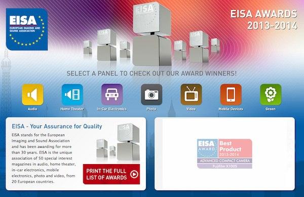 eisa award 2013 2014 - Smartphone & Photo - Prix EISA 2013-2014