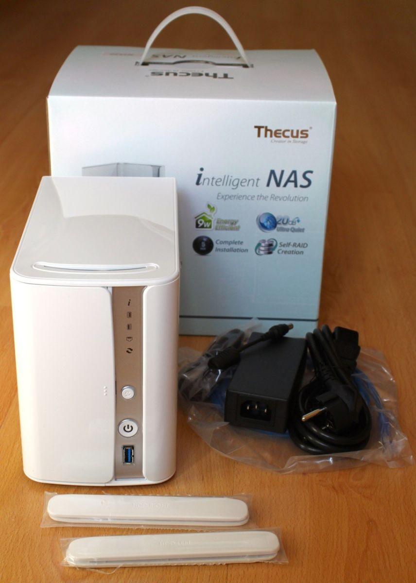 package Thecus N2520 - Prise en main du NAS Thecus N2520