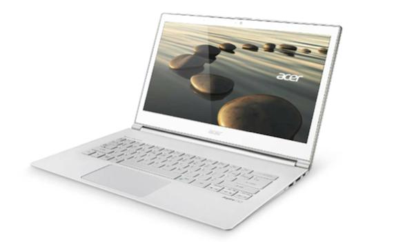 Acer aspire S7 - Acer aussi fait sa rentrée 2013