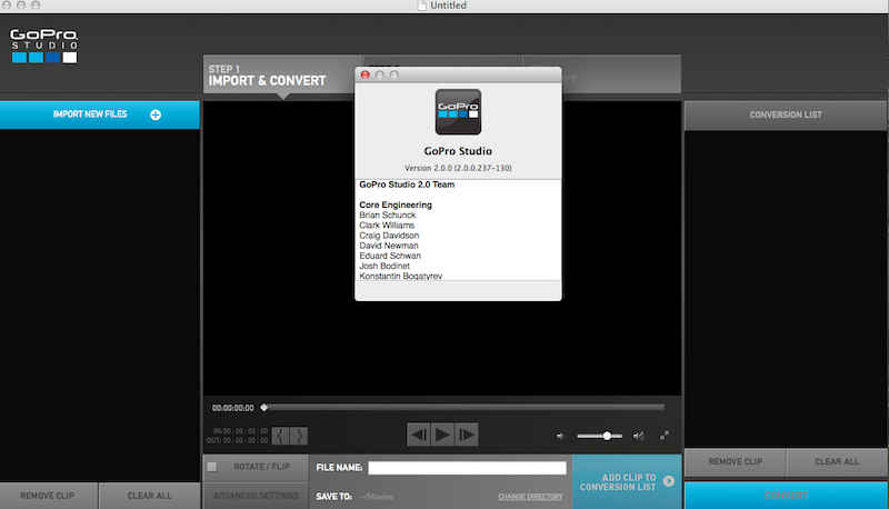GoPro Studio 2.0 - GoPro Studio s'améliore et passe en version 2.0