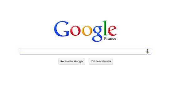 Google Avant - Chrome se met à jour... et Google change de logo