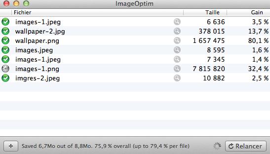 ImageOptim - Optimiser les images de votre Blog