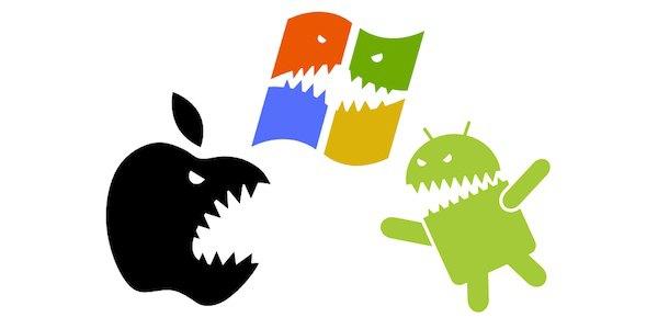 android apple windows - Revenus des éditeurs d'Apps mobiles