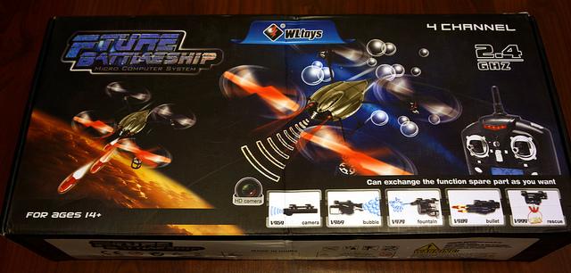 8345280857 f2b3daeea8 z - Drône WLToys v959, un jouet extraordinaire !