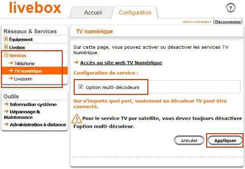 Configuration livebox2 - Problèmes AirPlay avec votre box : La solution ?