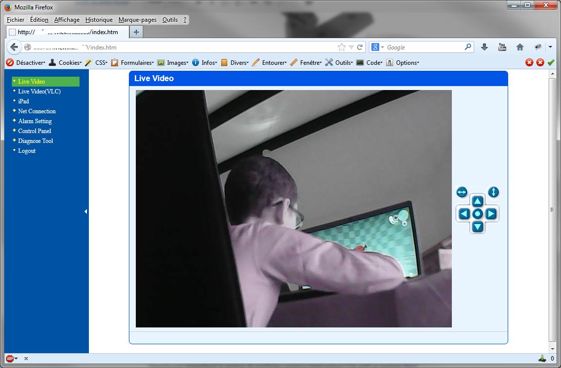 Snapshot2 - Caméra IP WiFi à vision nocture pas chère