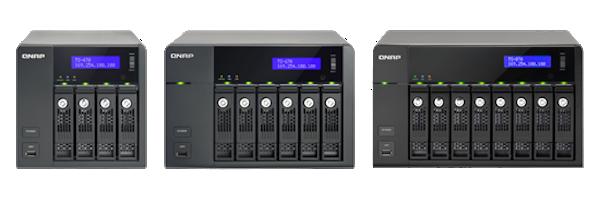 TS x70 - QNAP TS-470, TS-670 et TS-870