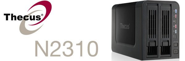 Thecus N2310 - Thecus lance un NAS 2 baies low cost, le N2310