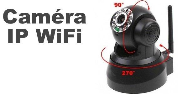 camera wifi pas cher - Caméra IP WiFi à vision nocture pas chère