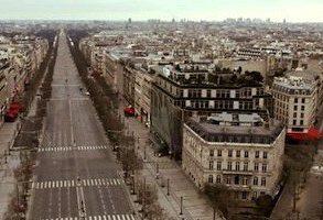 champs elysees vide 293x200 - Paris sans habitant...