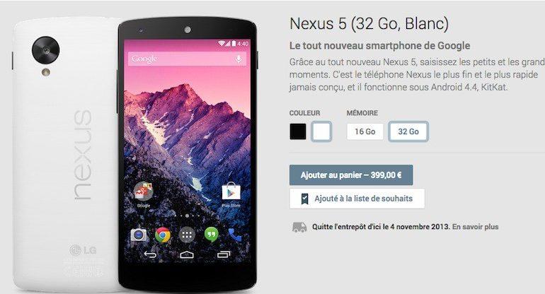 google nexus 5 770x416 - Le Nexus 5 est disponible...