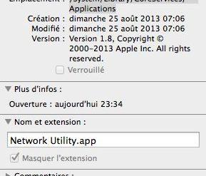 utilitaire reseau maverick 289x247 - Utilitaire de réseau sous OS X Mavericks