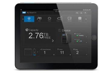 My Cloud EX4 ipad 370x247 - WD annonce My Cloud EX4