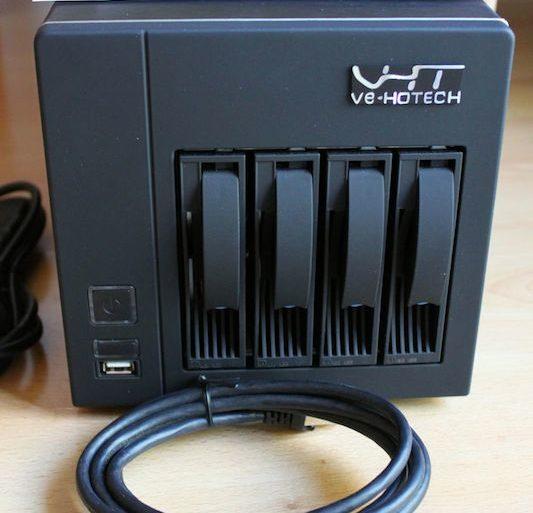 Ve hotech home server 4 vx front 533x513 - Test du Ve-HOTECH VHS-4 VX