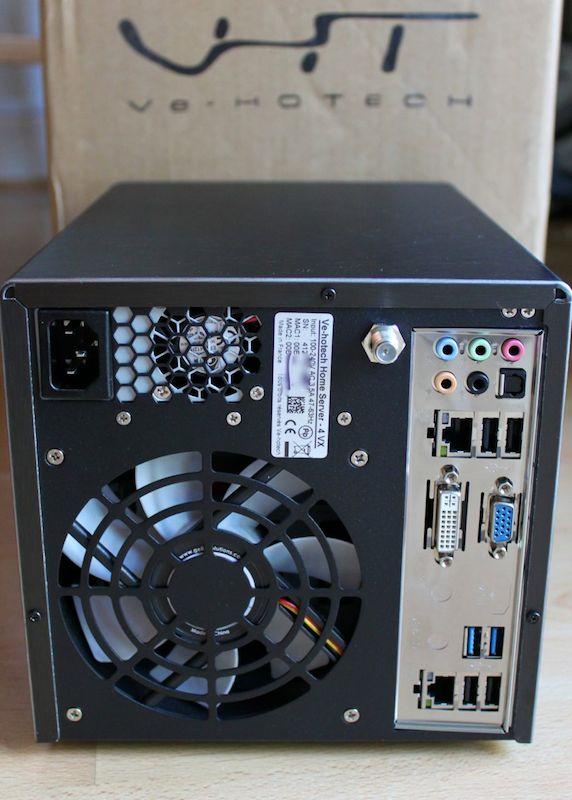 Ve hotech home server 4 vx - Test du Ve-HOTECH VHS-4 VX