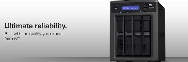 WD My Cloud EX41 - WD annonce My Cloud EX4