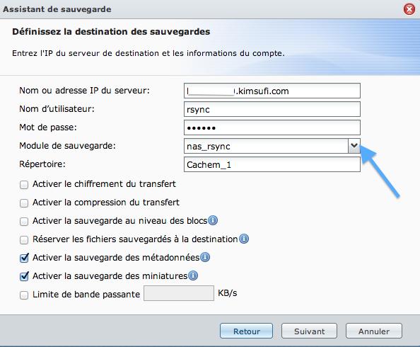rsync synology - Installer facilement rsync sur votre serveur