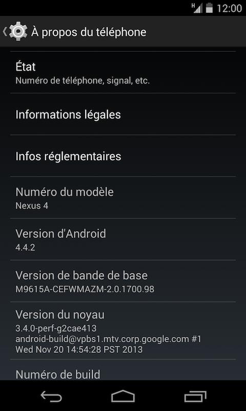 Android 442 - Android - Mettre à jour votre ROM via OTA sans WiFi