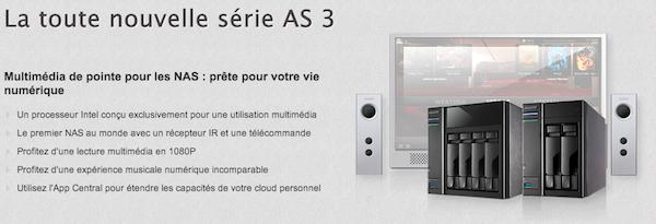 asustor as 3 - ASUSTOR dévoile les nouveautés d'ADM 2.1