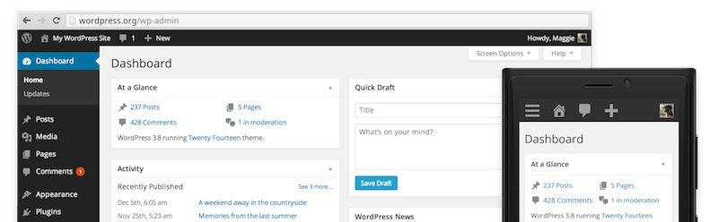 wordpress 38 - Wordpress passe en version 3.8