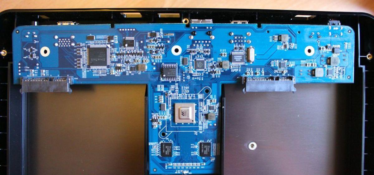 QNAP HS 210 SOC - Test du QNAP HS-210