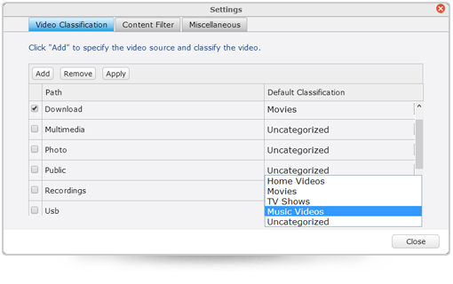 app easily classify your videos - QNAP officialise QTS 4.1 pour ses NAS...en beta