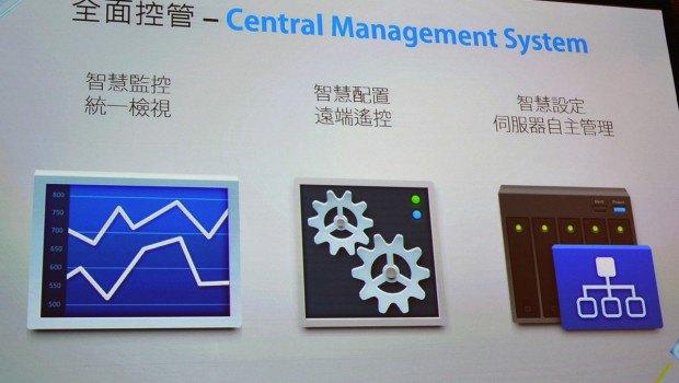 central management system - Synology DSM 5.0, les premières images et une vidéo